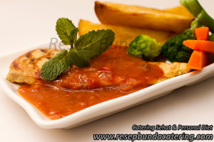 Pilihan Menu : Chicken Steak