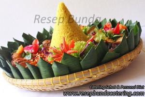 Paket Catering Nasi Tumpeng   Resep Bunda