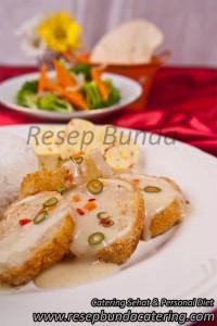 Menu : Ayam Gulung Isi Seafood