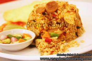 Menu : Nasi Goreng Kampung