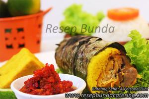 Menu : Nasi Kuning Bakar