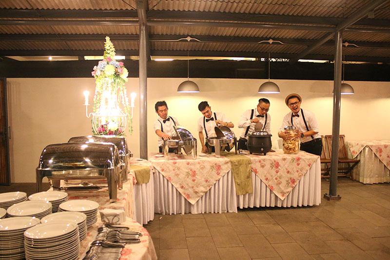 Buffet Catering Wedding