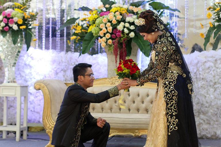 Di acara wedding
