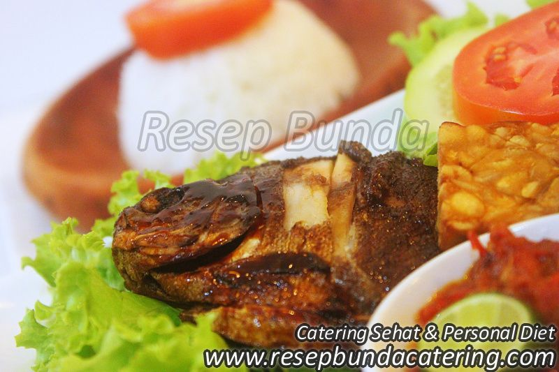 Menu Catering Nasi Box : Ikan Bakar