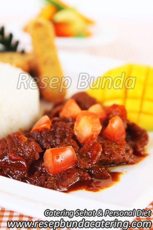 Menu Catering Nasi Box : Krengseng Sapi