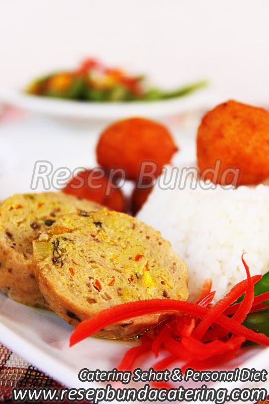 Menu Catering Nasi Box : Ayam Saus Lemon