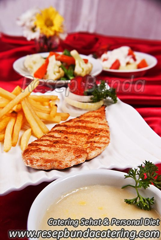 Menu Catering Nasi Box : Chicken Steak