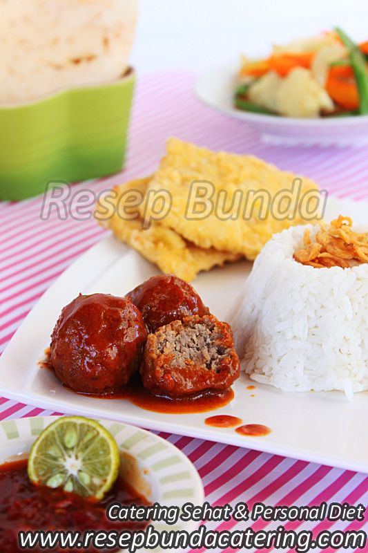 Menu Catering Nasi Box : Daging Perintil