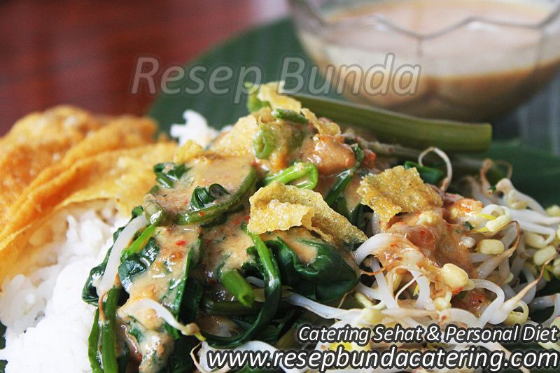 Menu Catering Nasi Box : Pecel Kediri