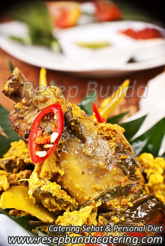 Menu Catering Nasi Box : Pepes Ayam
