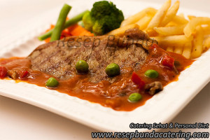Beef Steak Saus Barbeque