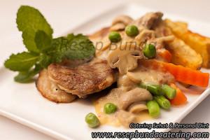 Beef Steak Saus Mushroom