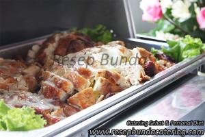 Menu Prasmanan : Ayam Kodok