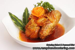 Menu : Ayam Saus Mentega