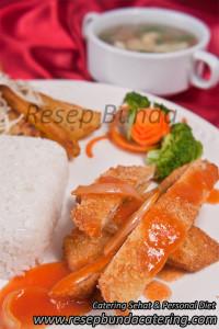 Menu : Chicken Katsu