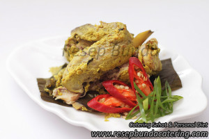 Menu : Pepes Ayam