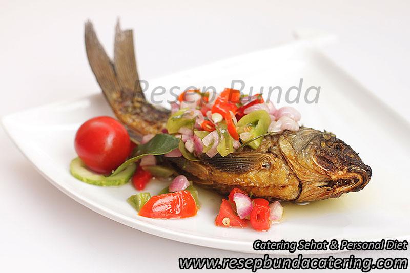 Menu Ikan Dabu-dabu di Prasmanan Puslitbang