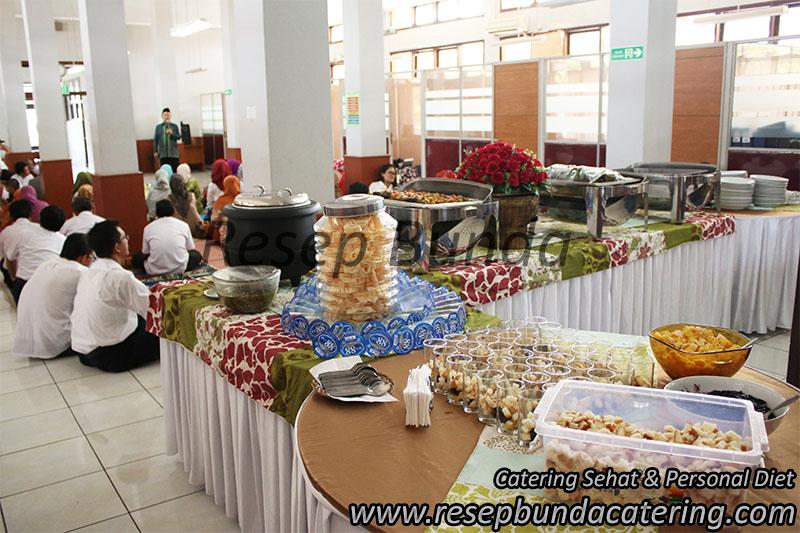 Catering Prasmanan di Puslitbang Bandung