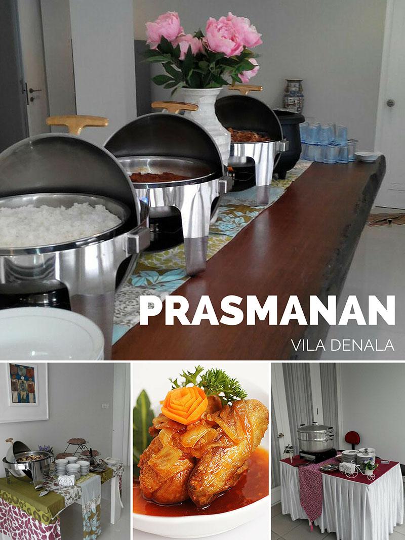 Catering Prasmanan Bandung Murah di Vila Denala