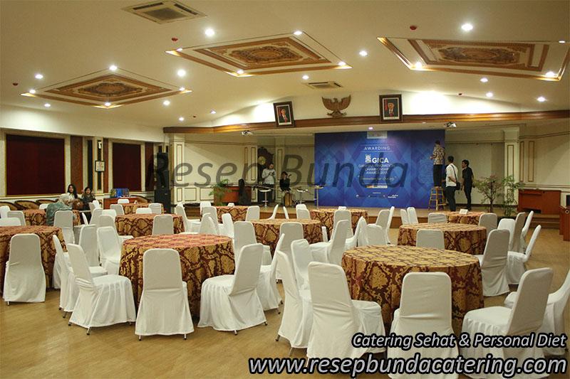 Prasmanan di Balaikota Bandung