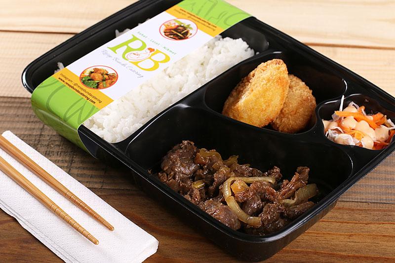 Paket Catering Nasi Bento