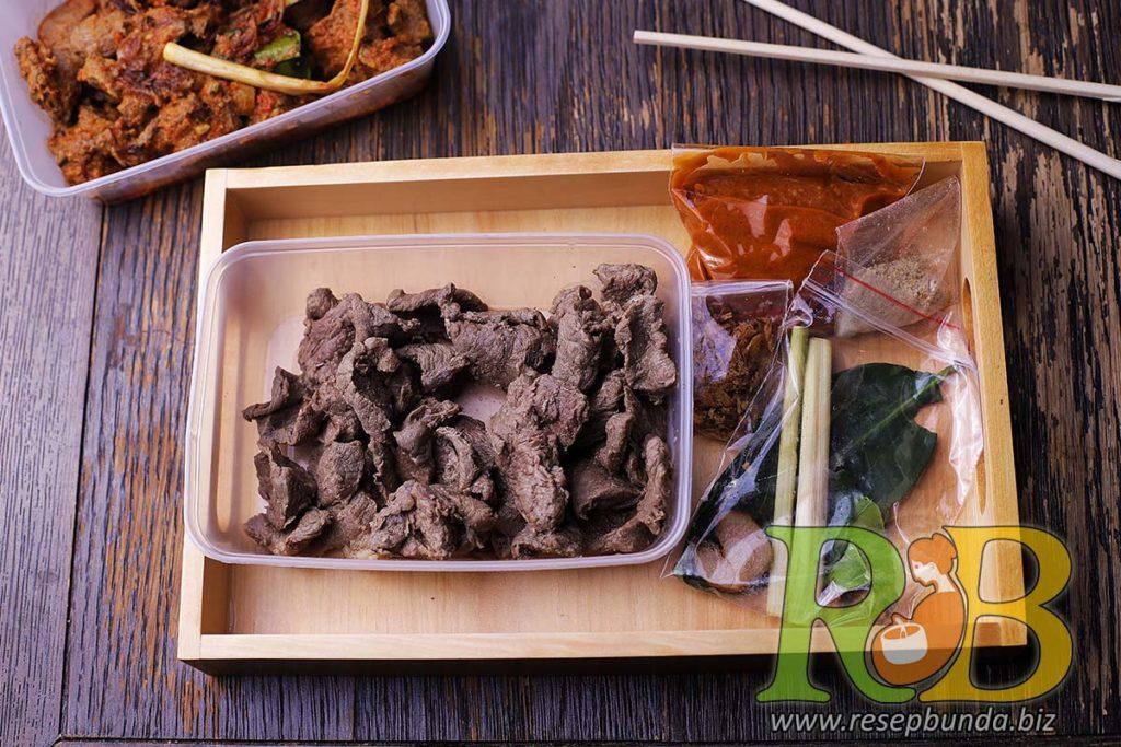 Paket Masak Kemasan Bandung Siap Saji - Sambal Goreng Daging