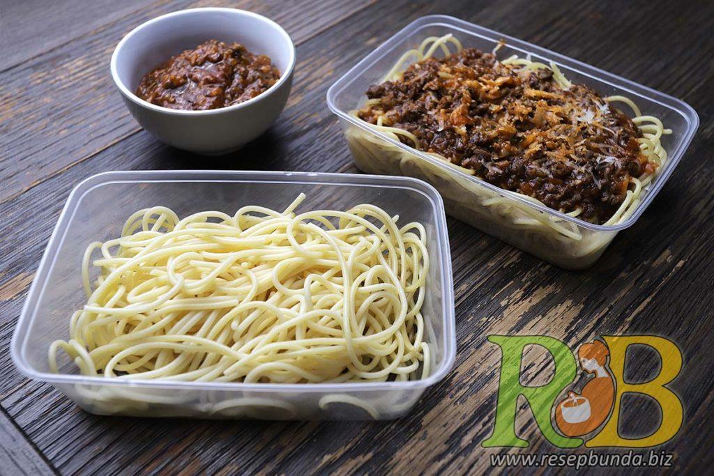 Paket Masak Kemasan Bandung Siap Saji - Spaghetti Bolognese